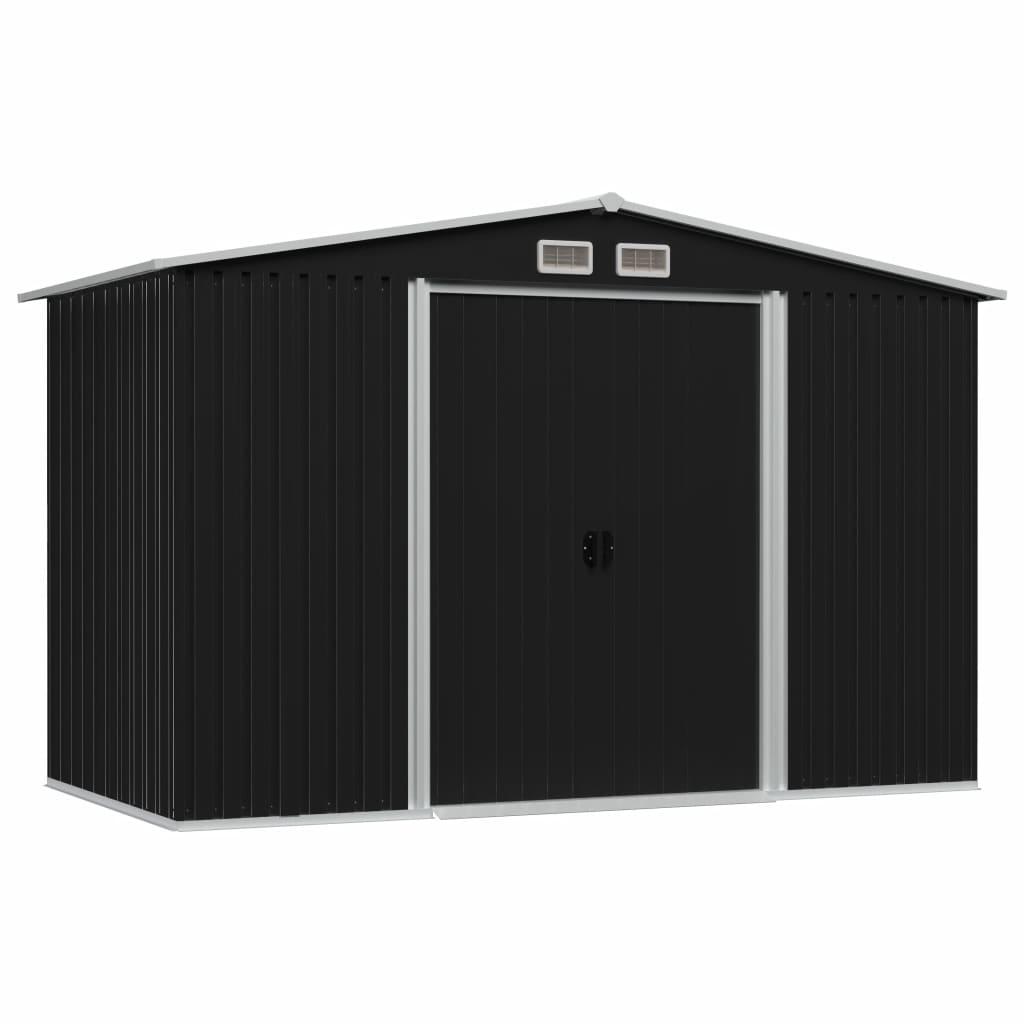 Ova metalna kućica za pohranu