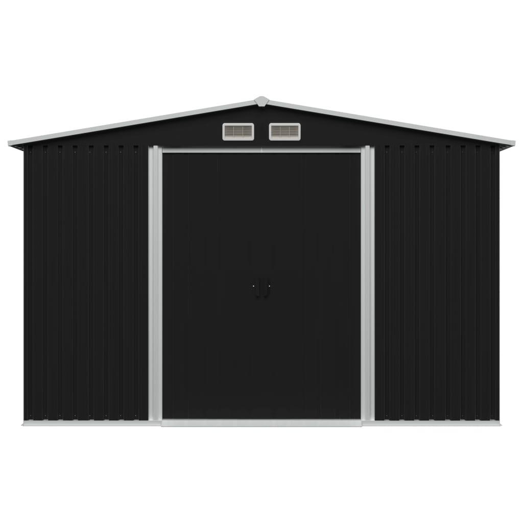 osiguravajući izvrsnu ventilaciju. Dvostruka klizna vrata na prednjem dijelu omogućuju jednostavan ulaz i izlaz. Pocinčana čelična konstrukcija je izdržljiva i čvrsta