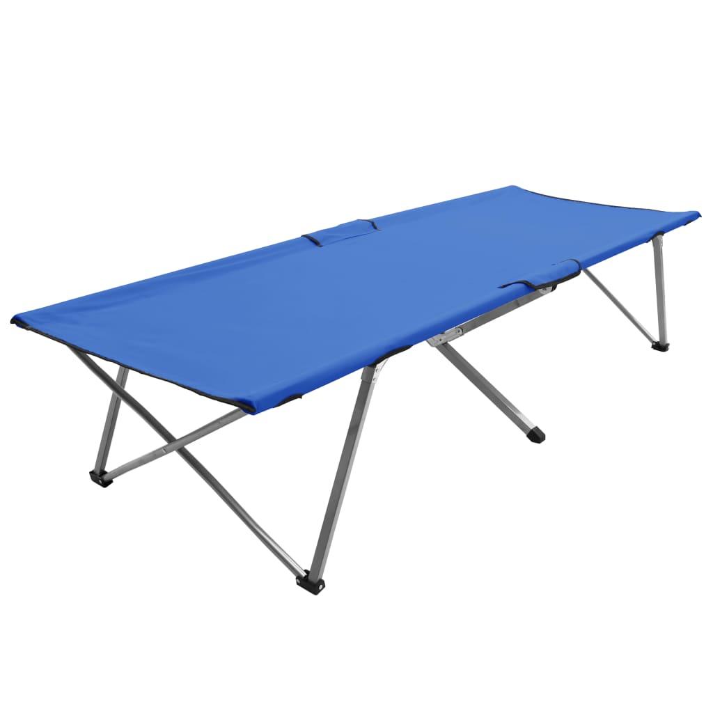 Ovaj sklopivi krevet za kampiranje bit će idealan izbor za opuštanje i uživanje u danu vrtu ili na plaži. Napravljena od visokokvalitetne tkanine Oxford