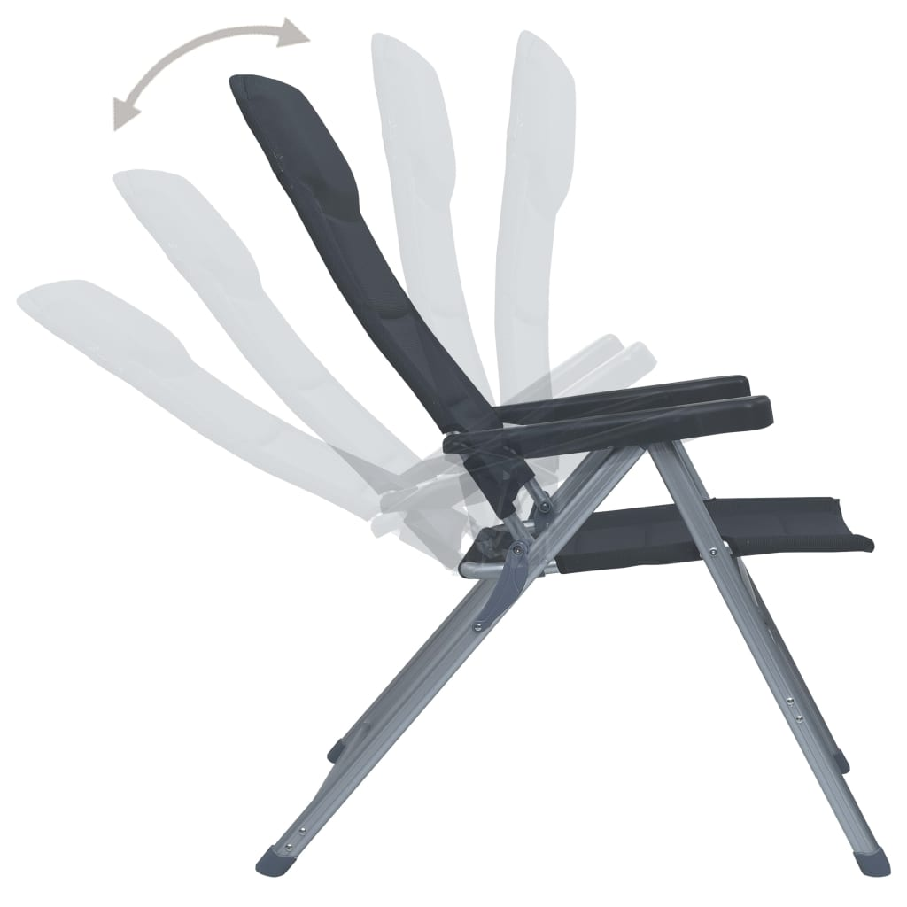 putovanja i druge aktivnosti na otvorenom. Sklopive stolice za plažu mogu se podesiti u 6 položaja. Zahvaljujući čvrstoj strukturi