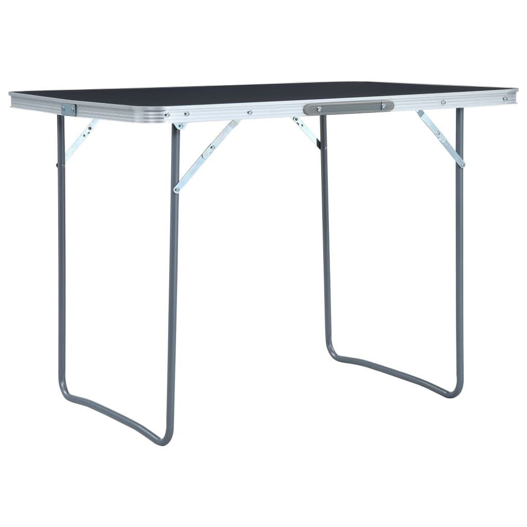 Ovaj sklopivi stol za kampiranje s praktičnom ručkom za nošenje bit će praktičan u kuhinjama