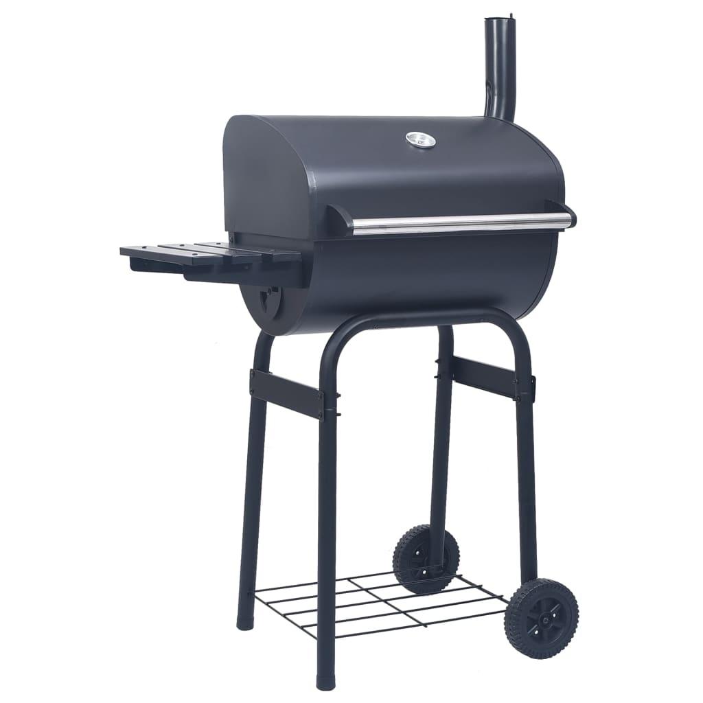 Ovaj izdržljivi roštilj na drveni ugljen idealan je za pripremanje gozbe na otvorenom za vašu obitelj i prijatelje. Zbog nje će vaše kuhanje na otvorenom cvrčati te će učinkovito pretvoriti vaše dvorište u drugu kuhinju! Ovaj roštilj upotrebljava drveni ugljen kao gorivo