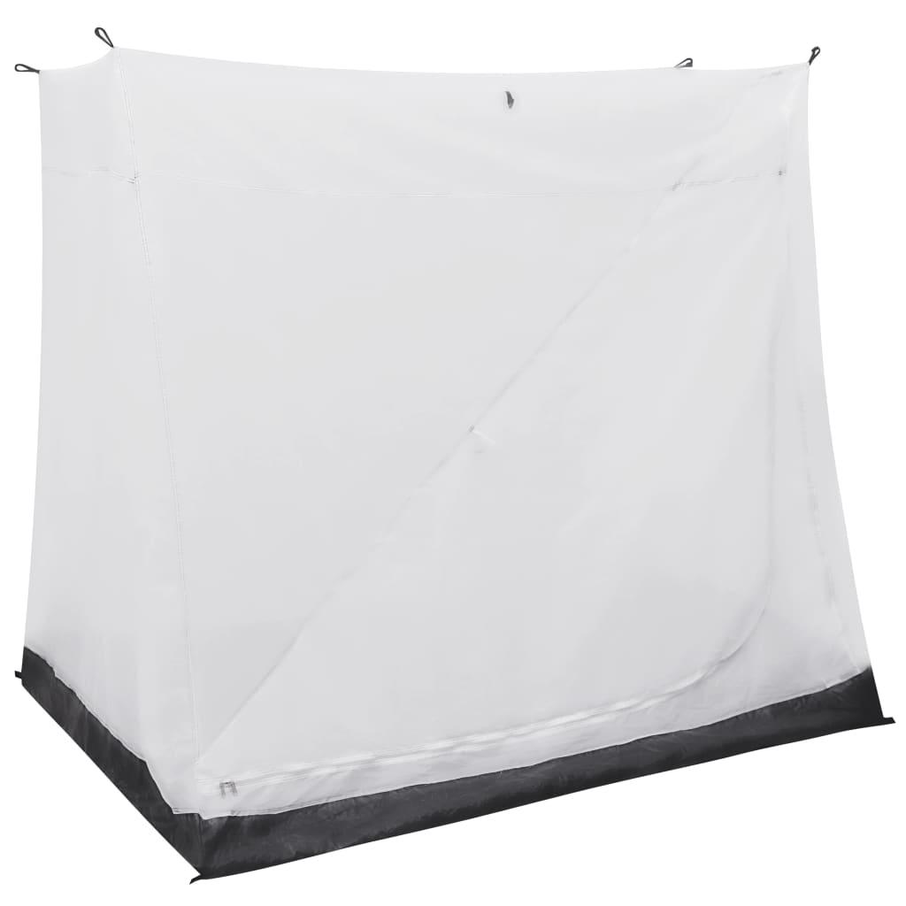 Poboljšajte svoju vanjsku putnu tendu našim univerzalnim unutarnjim šatorom. Ovaj unutarnji šator idealan je za dodavanje prostora za spavanje vašoj tendi. Ovaj unutarnji šator napravljen je od prozračnog poliestera