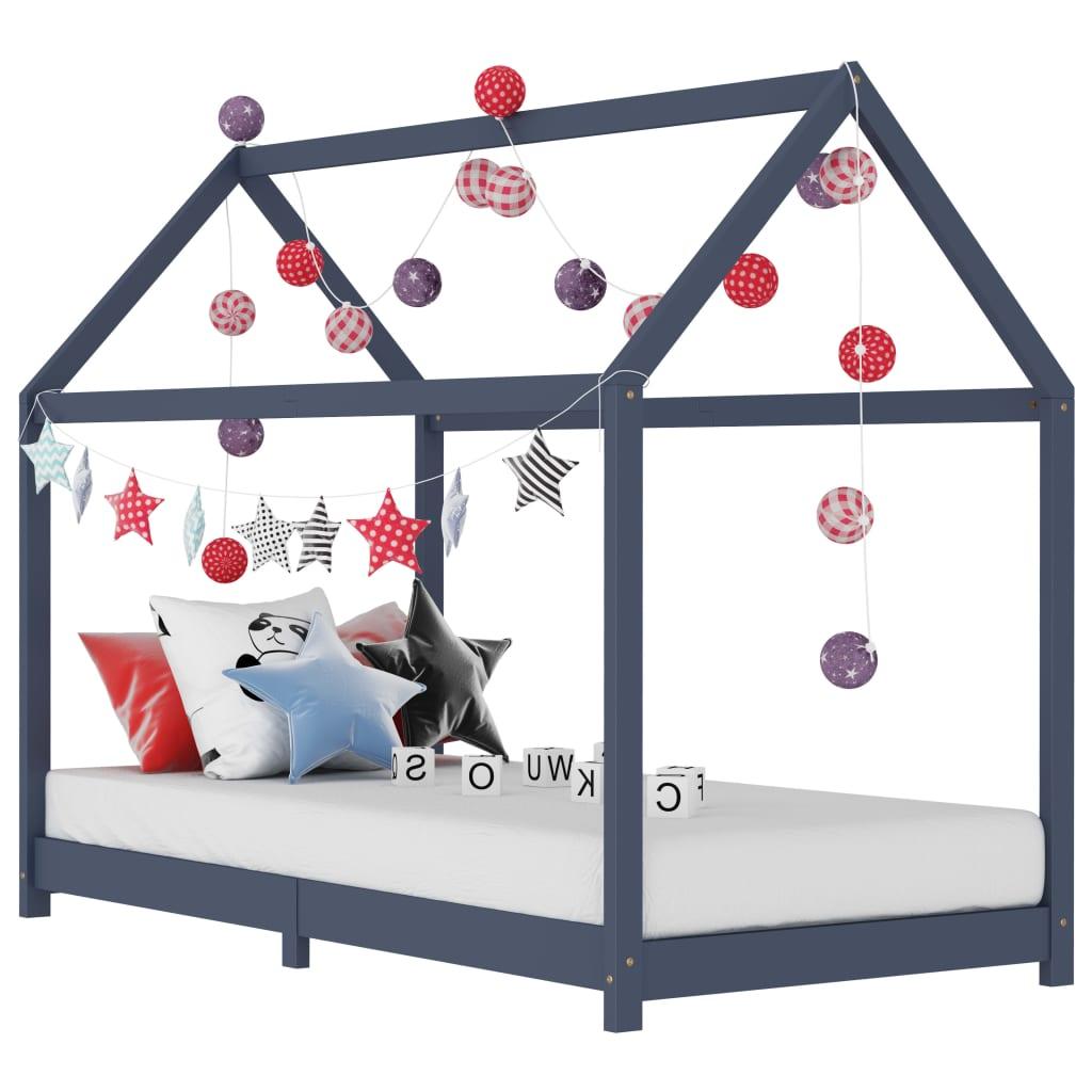 Stvorite savršeno skrovište u spavaćoj sobi vaše djece uz naš fantastični okvir za krevet! Krevet je pametno dizajniran s okvirom u stilu kućice na stablu
