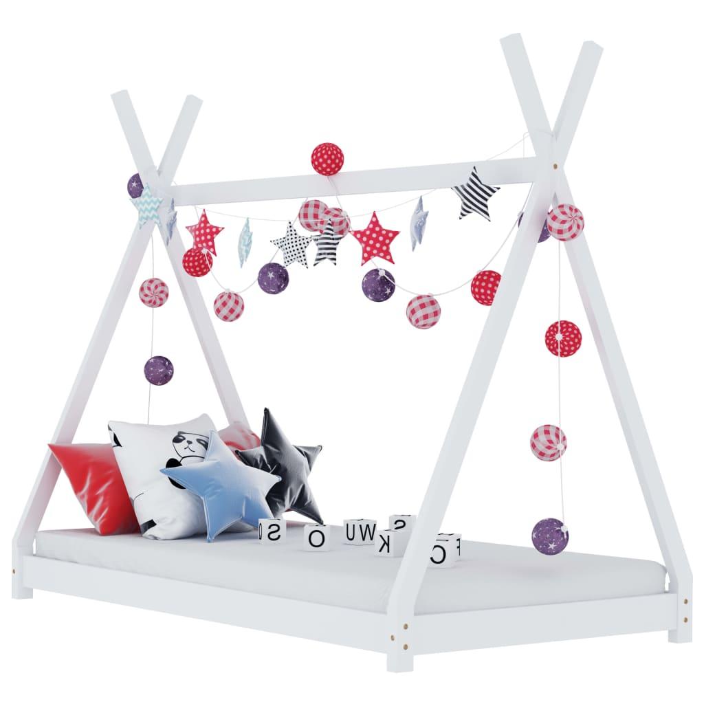 Stvorite savršeno skrovište u spavaćoj sobi vaše djece uz naš fantastični okvir za krevet! Krevet ima neobični prekriženi okvir nadahnut zanimljivim šatorima u stilu tipija