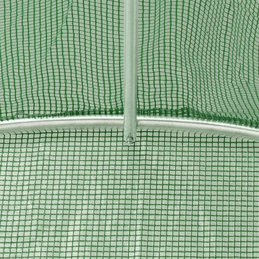 sunca i štete od ptica. Staklenik je napravljen od PE mrežaste tkanine od 140 g/m²