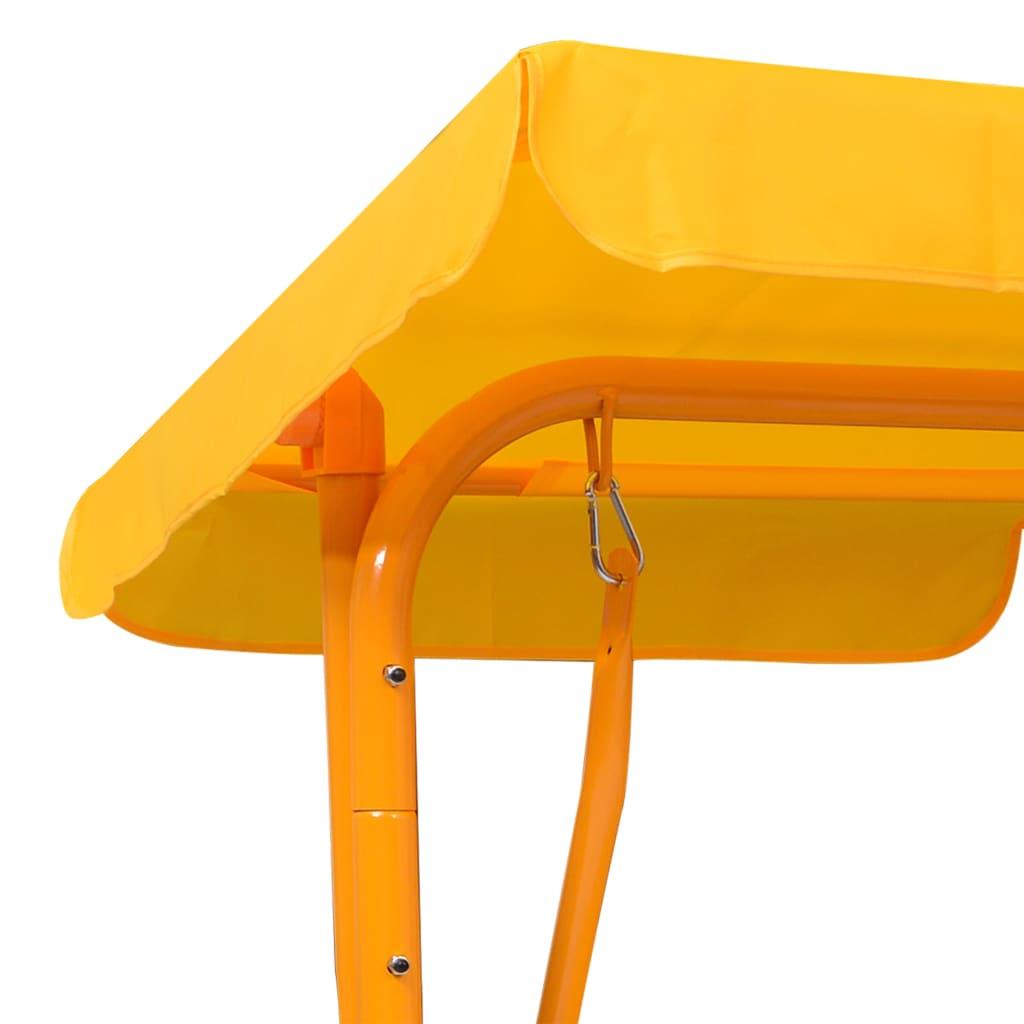 uključen je i krov koji čuva vaše mališane od sunca. Naša klupa za ljuljanje jednostavno se sastavlja.