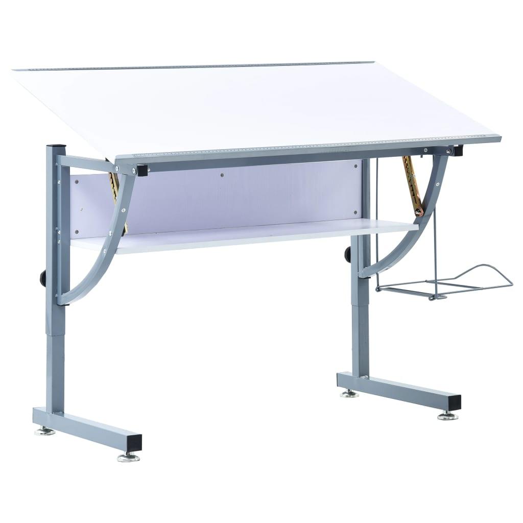 Ovaj podesivi crtaći stol s prostranom radnom površinom i unikatnim načinom podešavanja koristan je za niz različitih radnih zadataka u domu