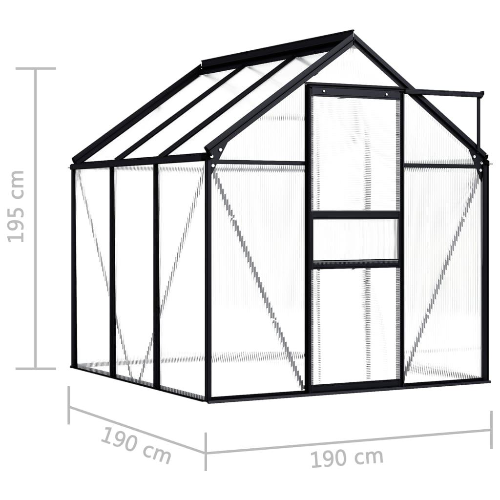 što osigurava izdržljivost i dugotrajnu upotrebu krova. Naš staklenik jednostavno se sastavlja. Napominjemo da temelj nije uključen i da krov našeg staklenika ne može izdržati teške snježne padaline.