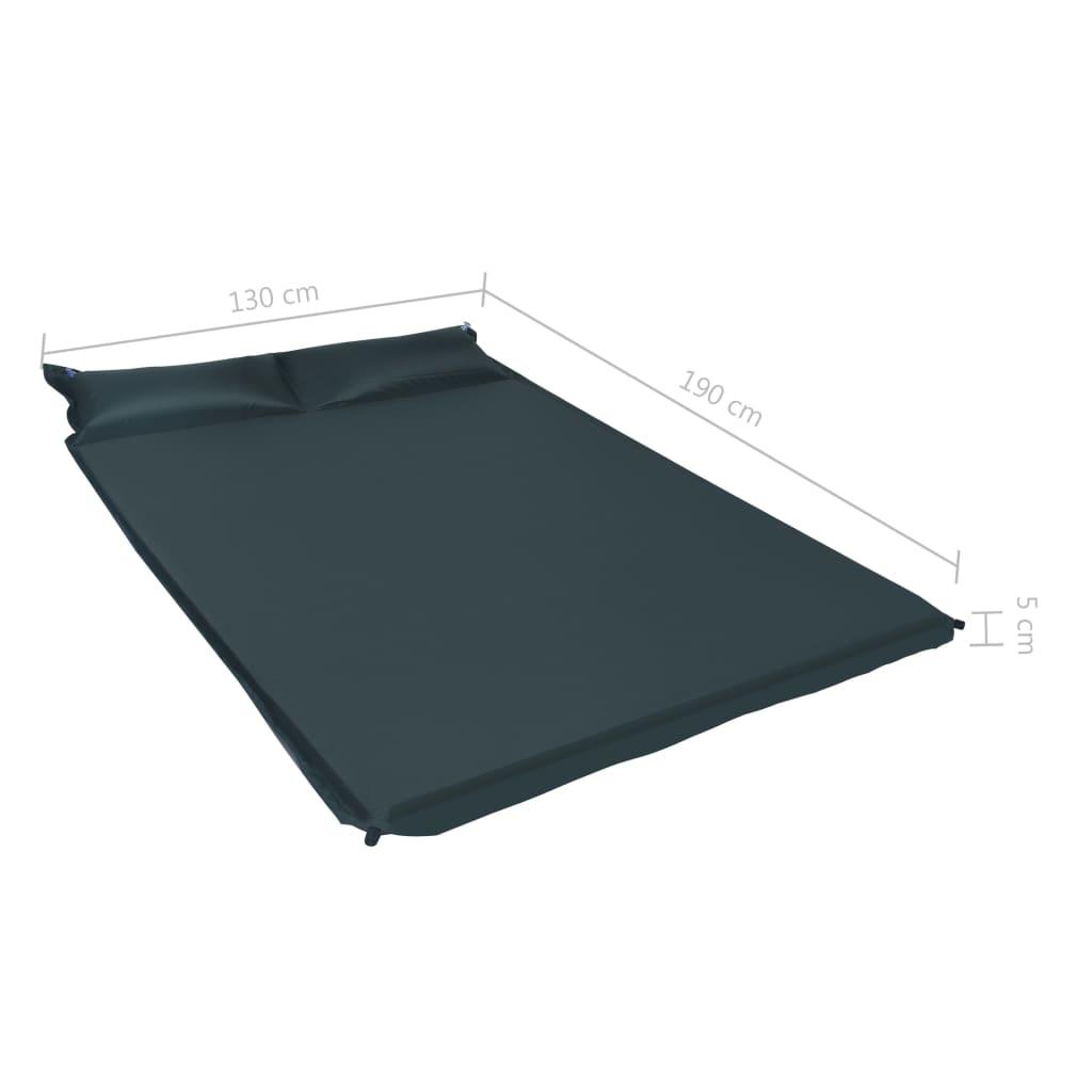 pijeska i zemlje. Ugrađeni jastuci mogu se napuhati za dodatnu udobnost. Ovaj zračni madrac