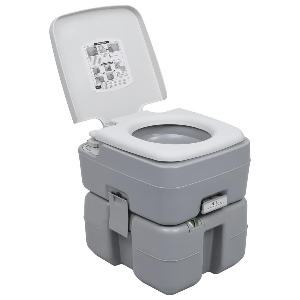 Naš prijenosni toalet ima 20-litarski spremnik za otpad
