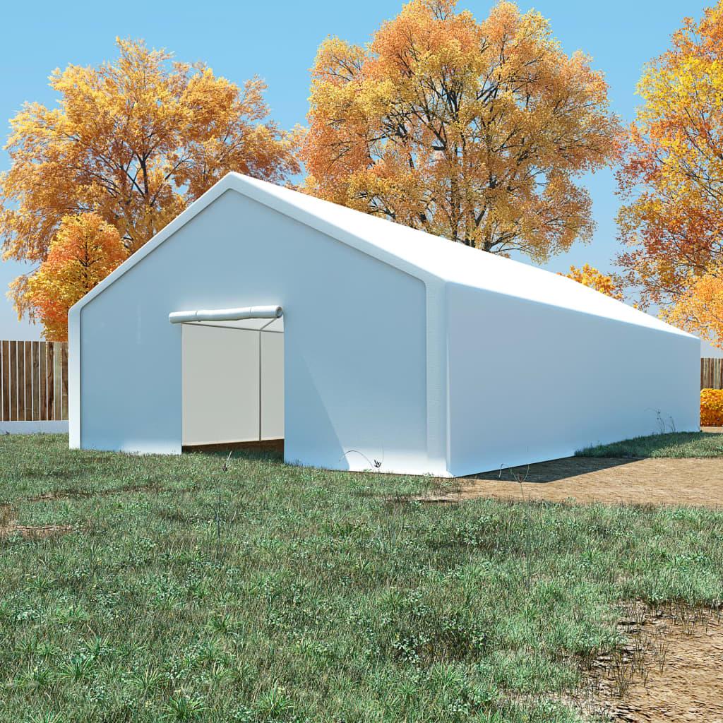 Ovaj skladišni šator ima veliki kapacitet i idealan je za pohranu širokog raspona robe i predmeta. Sve što u njega pohranite bit će zaštićeno u nepovoljnim vremenskim uvjetima. Ovaj skladišni šator napravljen je od 100 % PE materijala