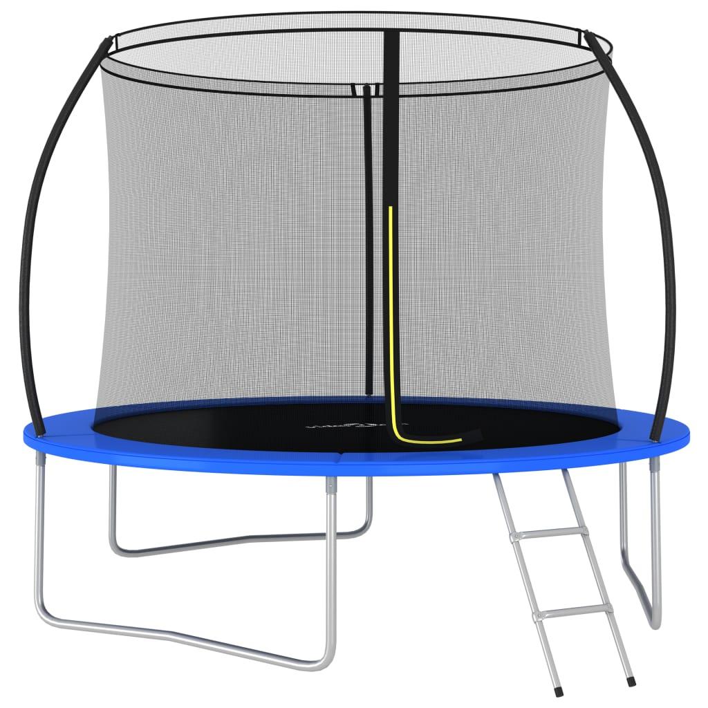 Ludo se zabavite i skačite uz naš okrugli trampolin! Naš set trampolina uključuje sigurnosnu mrežu