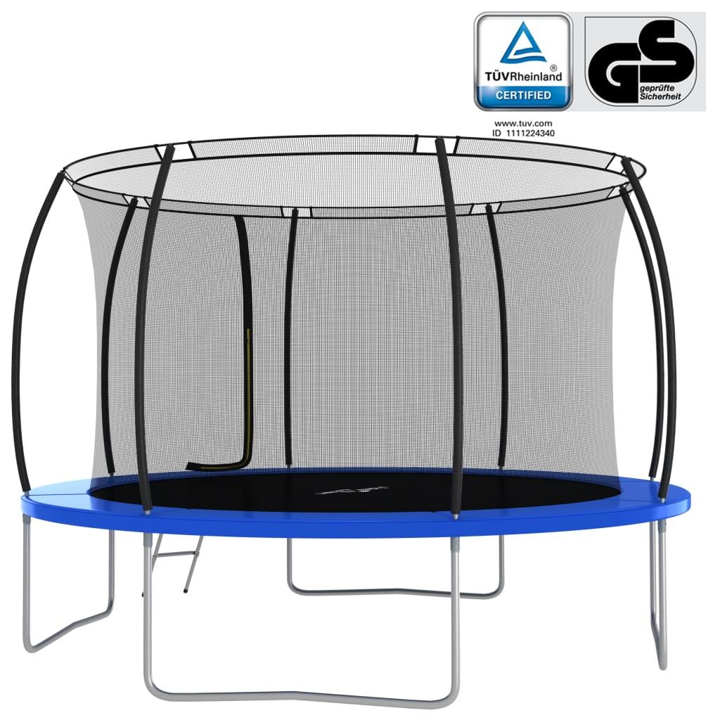 koje omogućuju vašoj djeci da lako uđu u trampolin i iziđu iz njega. Mreža je zatvorena patentnim zatvaračem