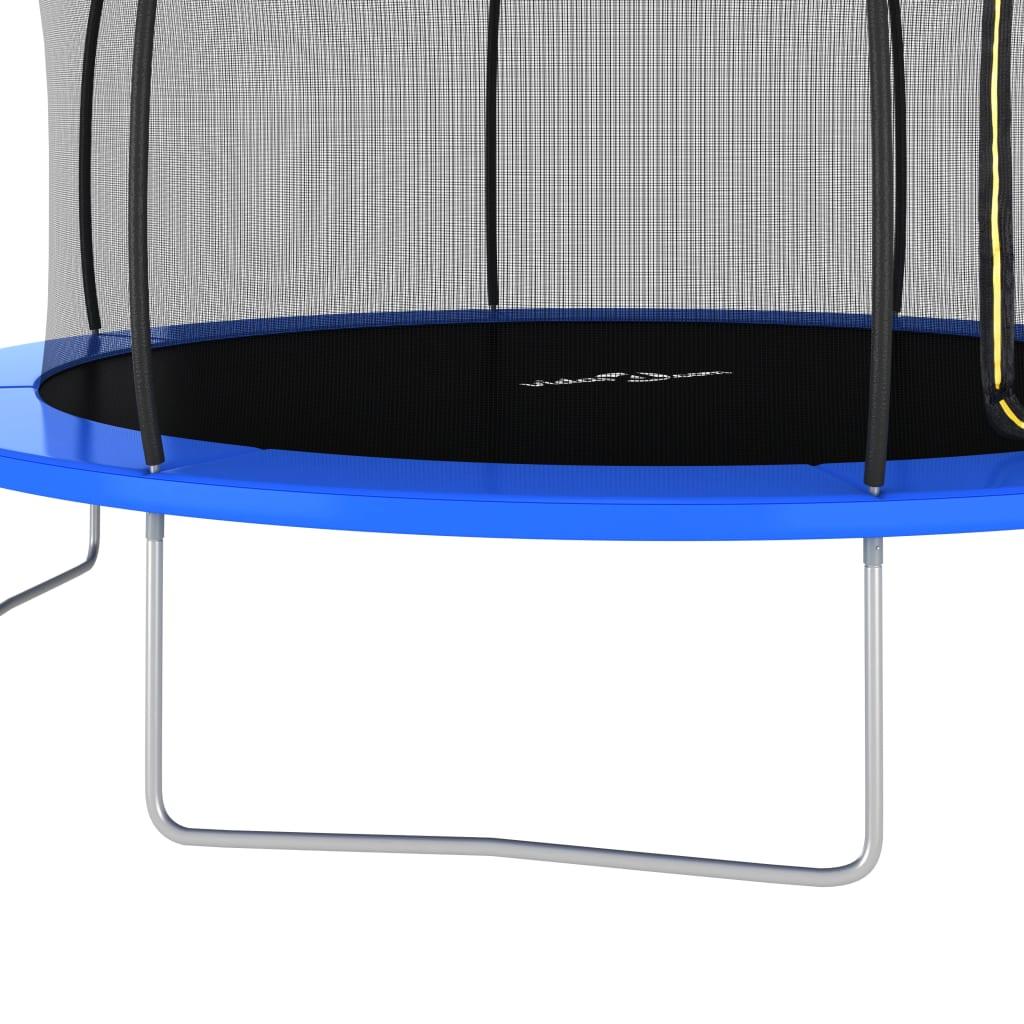 navlaka za kišu štiti trampolin radi duge upotrebe. Lako se sastavlja.