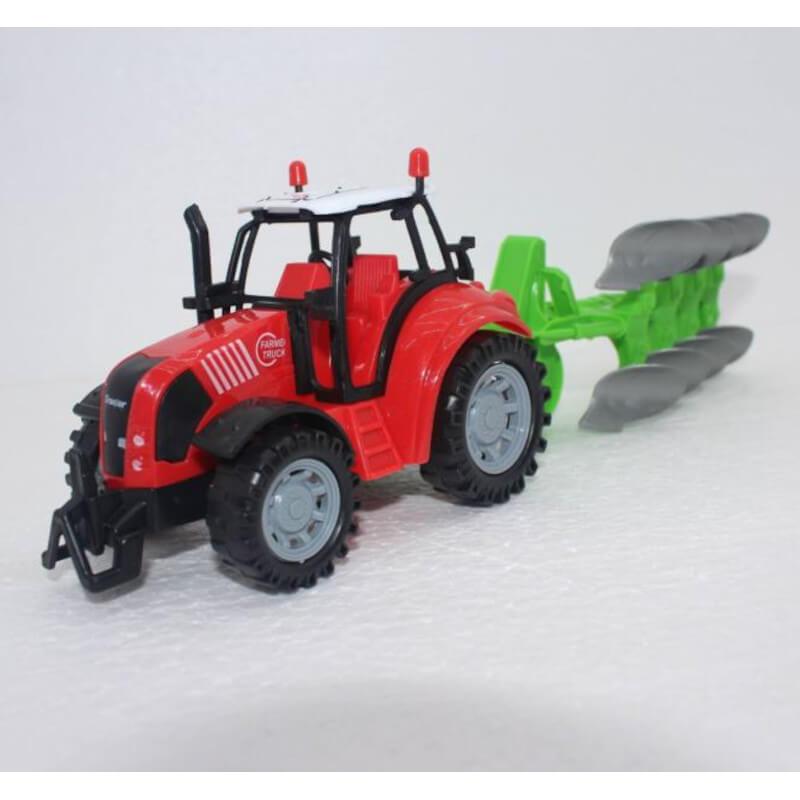 Igračka traktor s plugom
