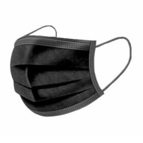 Troslojna maska za lice (pakiranje 50 kom) - plave ili crne