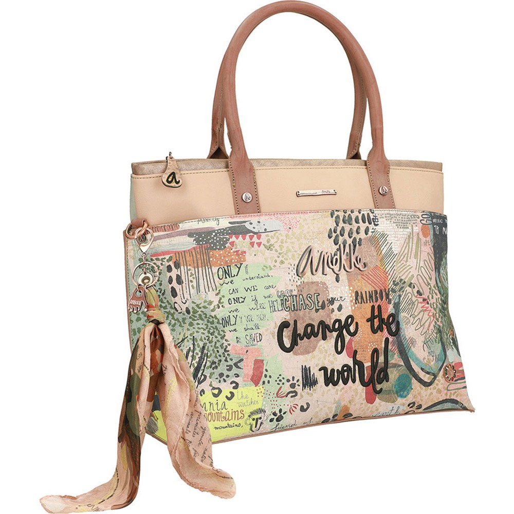 Torba fashion Anekke JUNGLE SS20 L 45/34x16x29 30711-62JUS