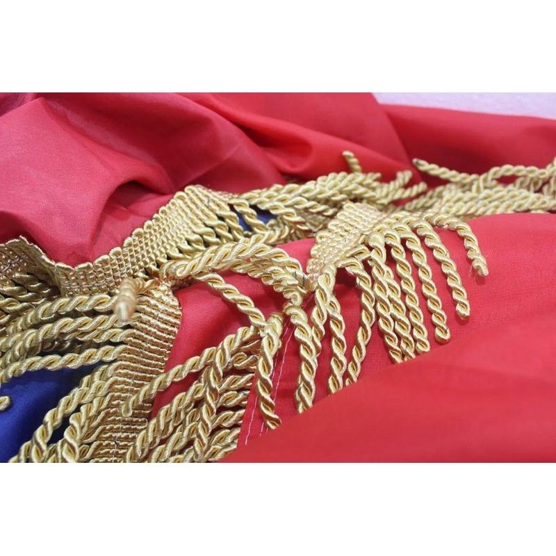 Zastava Republike Hrvatske 3x1,5 m, sa zlatnim resicama